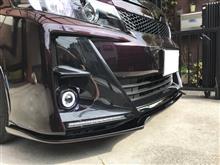 ヴォクシーG'sK'spec トヨタ【80系ヴォクシー[G's]】SilkBlaze フロントリップスポイラー Type-Sの全体画像
