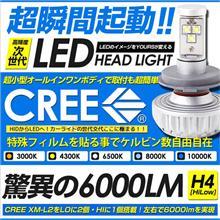Type1CREE LEDヘッドライトXM-L2の単体画像