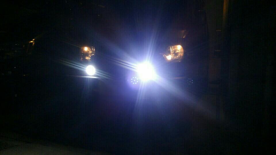 KAWELL 27Wx2 LED高輝度作業灯 荷台灯 投光器 led ワークライト バイク フォグランプ 取付式 広角タイプ60度 防塵防水仕様12v 24v兼用型