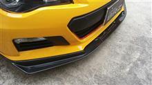 BRZZELE Performance カーボンフロントリップスポイラーの全体画像