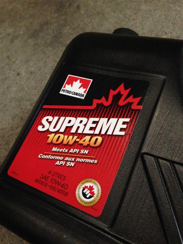 PETRO CANADA Supreme 10W-40