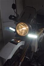 DR250SHEIPF SUPER RALLY ドライビングの全体画像