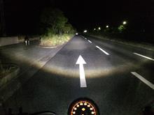 XL883Nハーレーダビッドソン(純正) LED ヘッドライトの全体画像