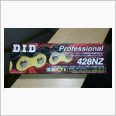 DID / 大同工業 ゴールドメッキチェーン428NZ G&B