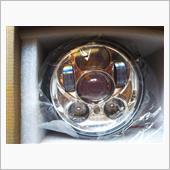 """SUPAREE ハーレーダビッドソン用 5.75"""" LEDヘッドライトライト ポジション機能付き Hi/40W Lo"""