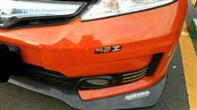 フィットハイブリッドRSホンダ Fit RS用 フロントバンパーの全体画像