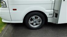 ボンゴトラック三菱 パジェロ ミニ純正アルミホイールの全体画像