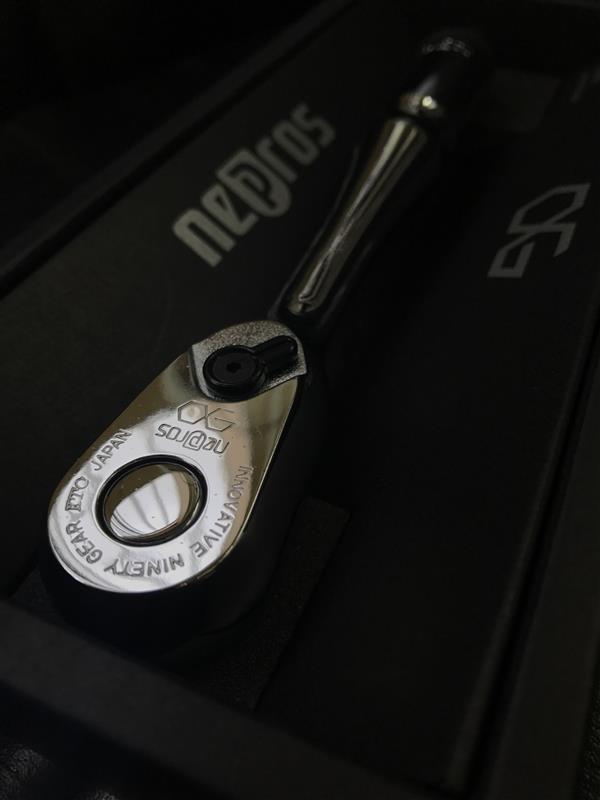 KTC / 京都機械工具 nepros nepros 9.5sq.ラチェットハンドル NBR390