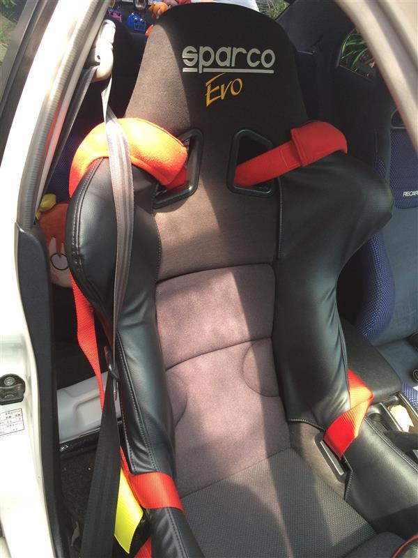 sparco FIBERGLASS RACING SEAT EVO