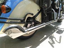 バルカン400ドリフターアメリカンドリームス ゴードンフィッシュマフラー の単体画像
