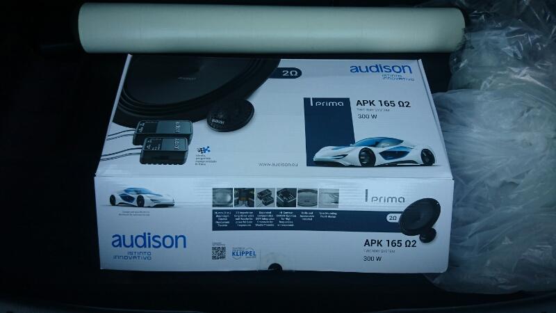 audison PRIMA APK165 Ω2