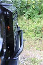 ディフェンダーmasai bumper light barの全体画像