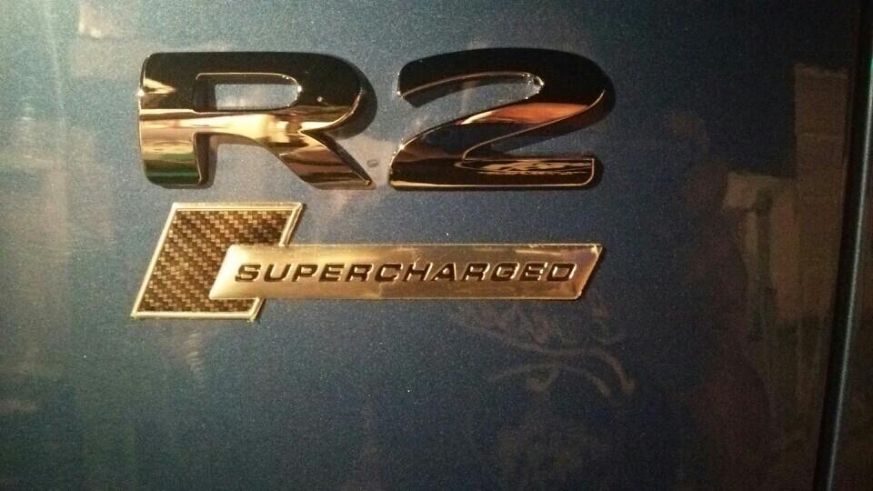 Audi純正(アウディ) SUPERCHARGEDエンブレム