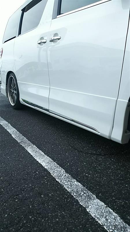トヨタモデリスタ / MODELLISTA サイドドアガーニッシュ