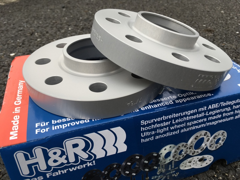 H&R TRAK+ Wheel Spacers 20mm