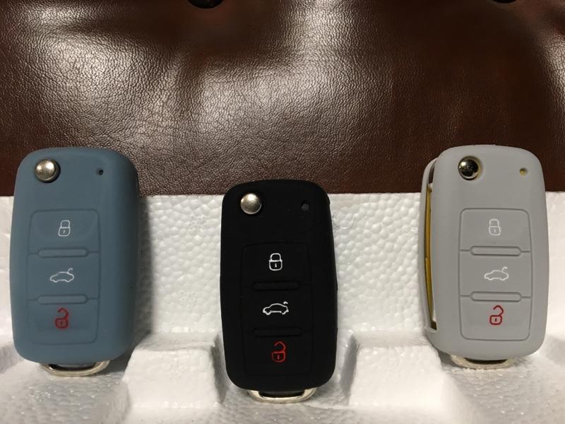 不明 VW シリコン キー カバーケース