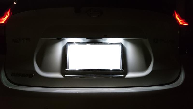 ピカキュウ ライセンスランプ対応LED T10