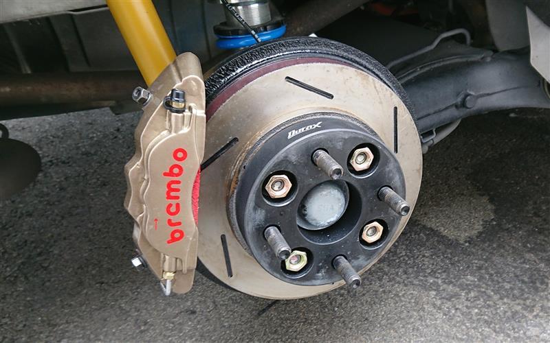Durax 鍛造ワイドトレッドスペーサー 30mm