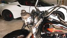 ヘリテイジ ソフテイル クラシックハーレーダビッドソン(純正) ヘッドライト  中古の単体画像