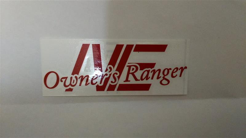 不明 Rangerチームステッカー