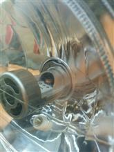 CB750中華製 バイク用 LEDヘッドライト H4/HS1 12V40W 2000Lm SMD 1年保証の全体画像