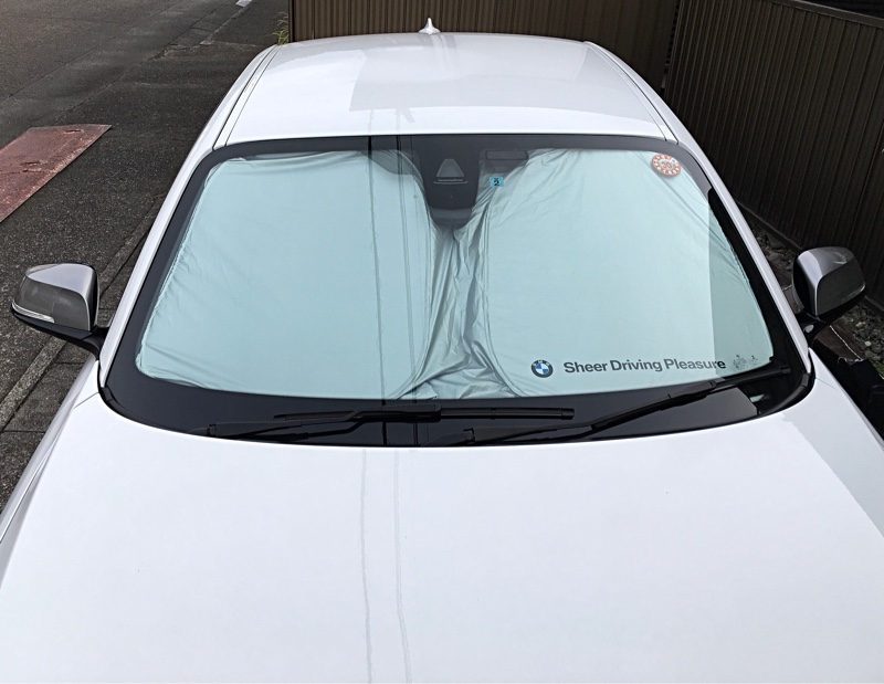 BMW(純正) フロントウィンドーサンシェード