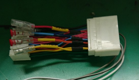 ENDY / 東光特殊電線 EPP-043Z  電源取り出しコネクター (マツダ車用/24ピン)
