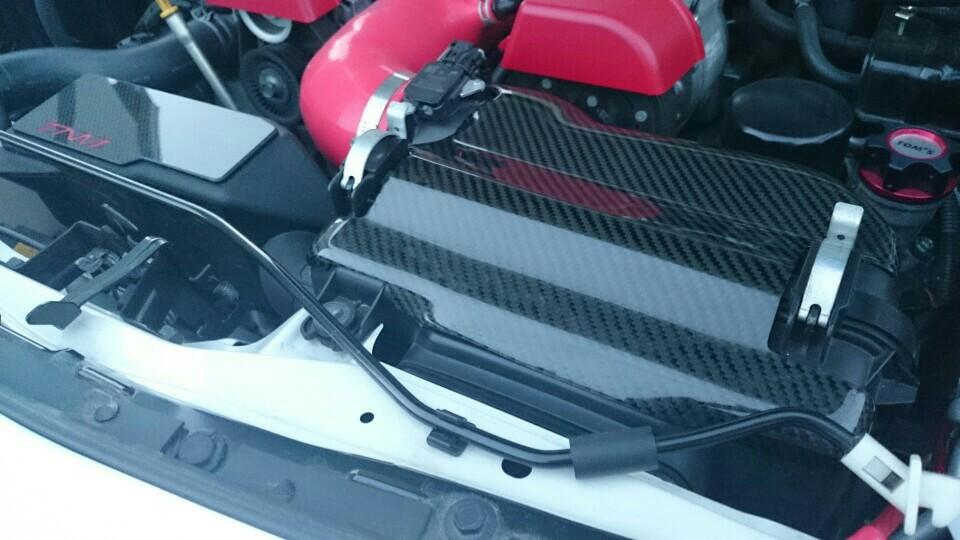 トヨタ(純正) TNMさん カーボン製エアクリーナーカバー