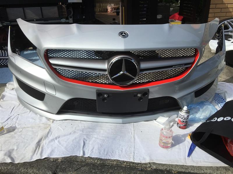 Mercedes Benz USA CLA45 AMG Grille