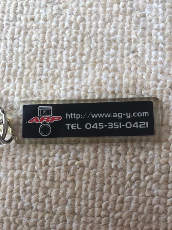 AGY  キーホルダー(非売品)