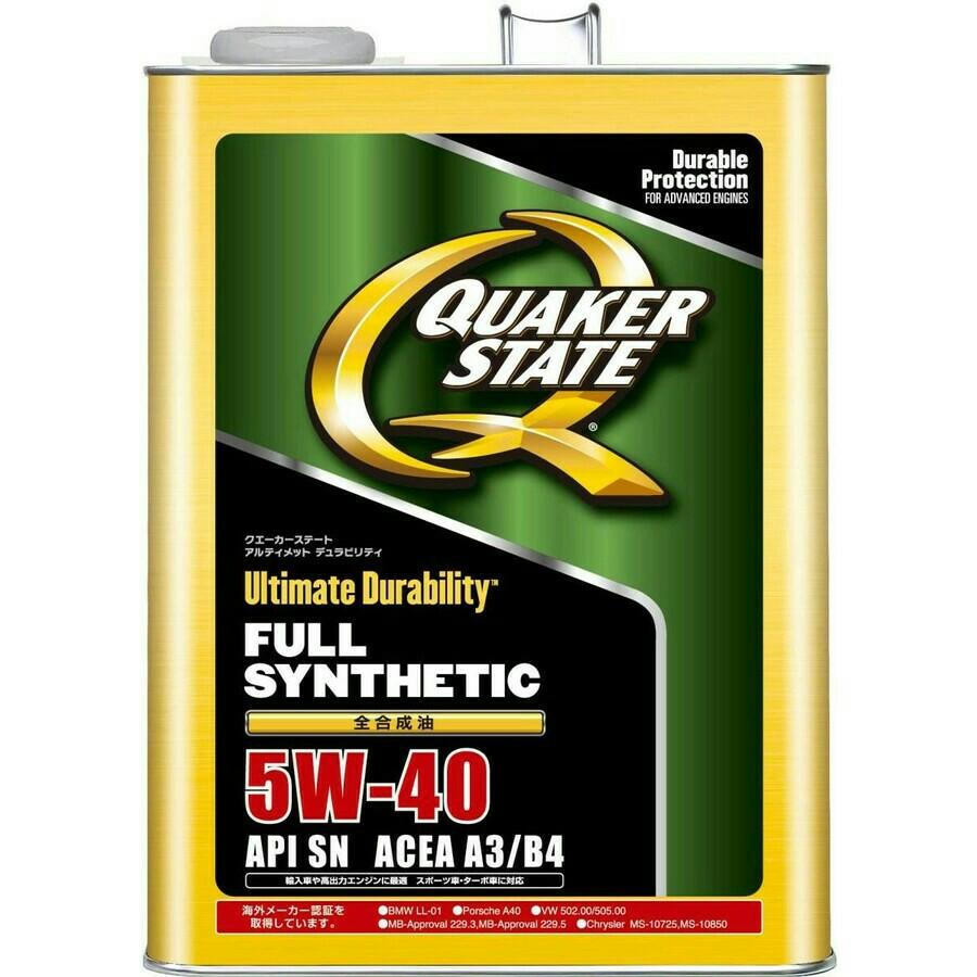 Quakerstate アルティメット デュラビリティ 5W-40