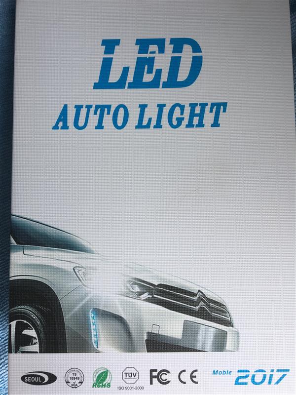 不明 LEDフォグランプ 3000K/4300K/6000K
