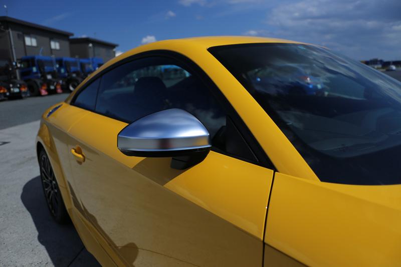 Audi純正(アウディ) TTS用アルミルックドアミラー