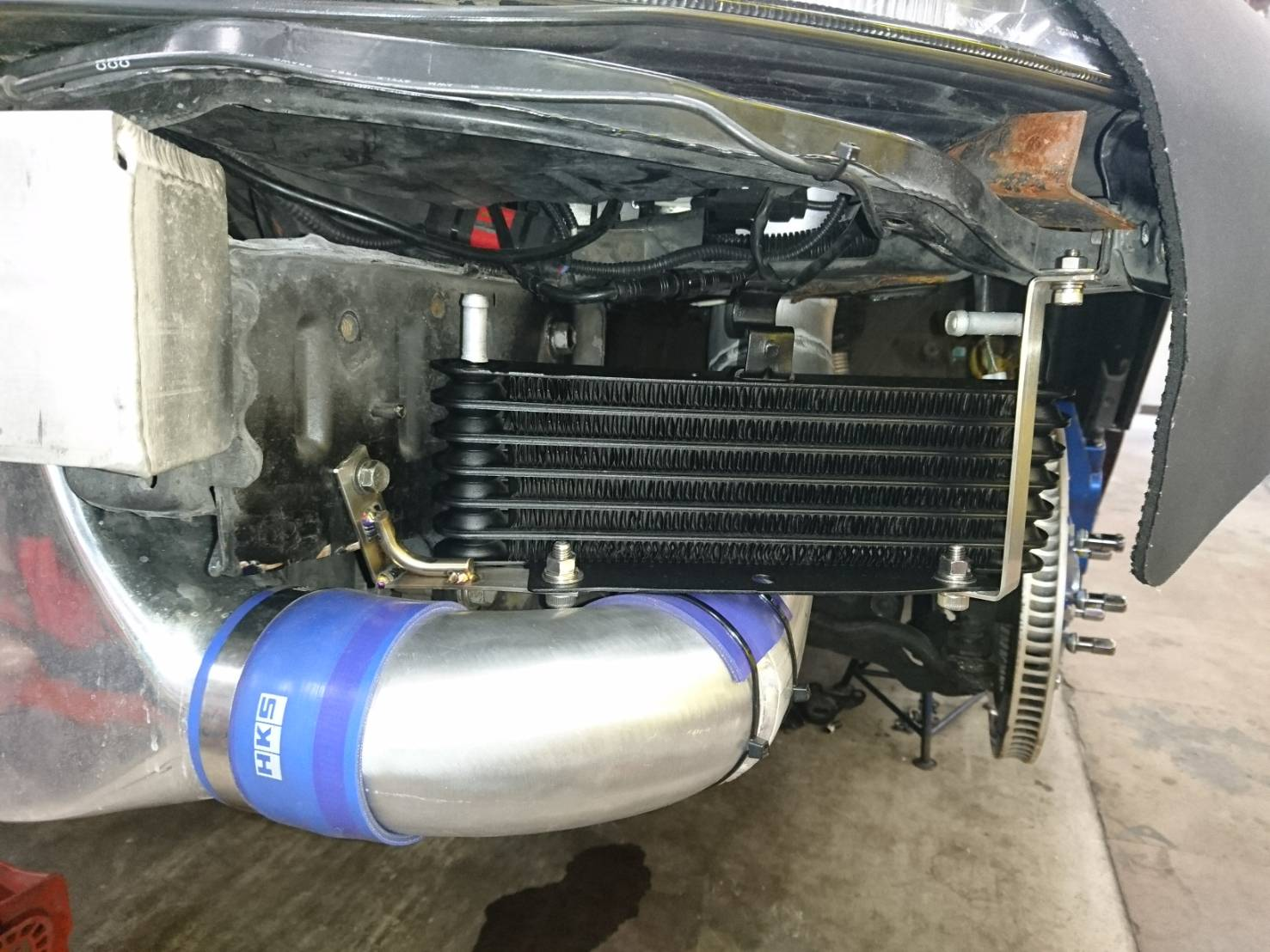 日産(純正) Z32純正エンジンオイルクーラー