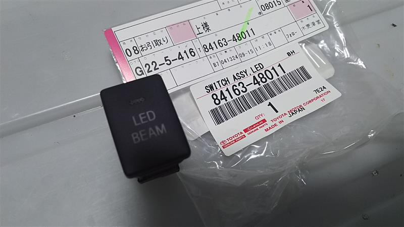 トヨタ(純正) SWITCH, LIGHT EMITTING DIODE ILLUMINATION
