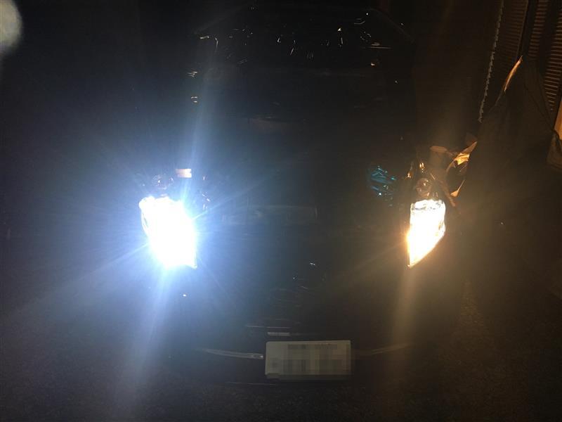 sugeryy(?) Sugeryy 72W H11 LED 7200ルーメン 車用 LED ヘッドライト H8 H9 高輝度 COB Cチップ搭載 DC 12V LEDバルブ ホワイト 2個セット