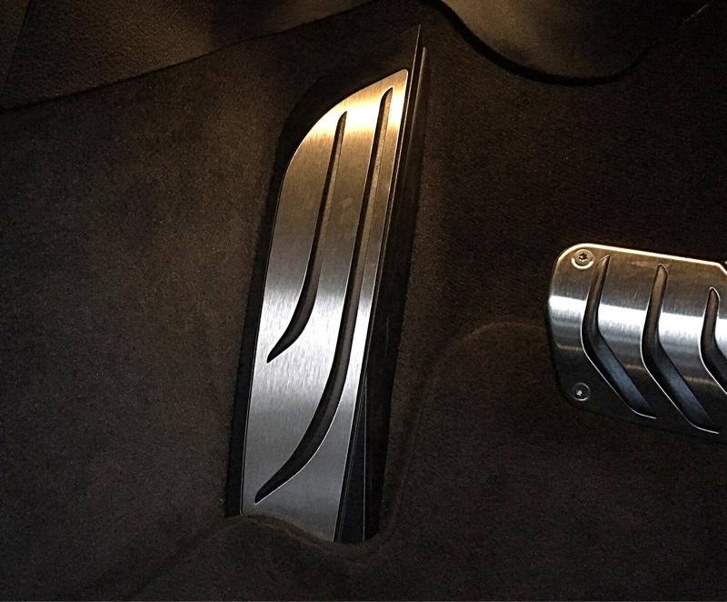 BMW(純正) ステンレススチールフットレスト