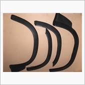 マツダ(純正)  86-93 Mazda B2600 B2600i 4X4 Fender Flare Extension Moulding Trim Black