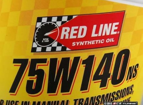 RED LINE Gear Oil 75W-140NS