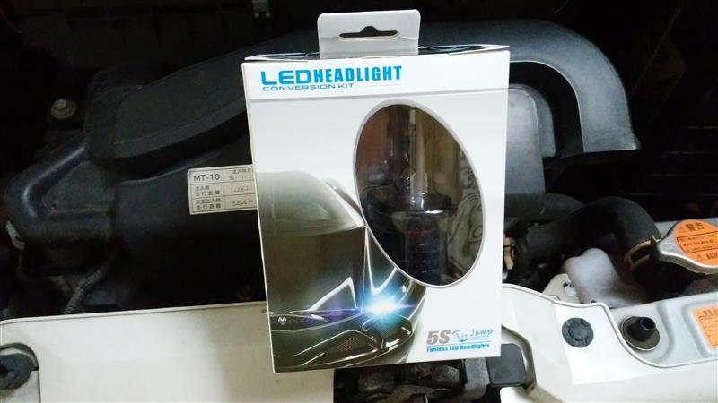 ACRATO H4 Hi/Lo 車用 LEDヘッドライト