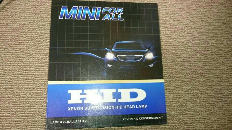 mini for all 55W オールインワン HID H11 8000K