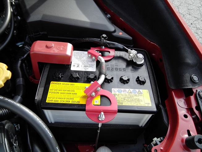 STI バッテリーホルダー
