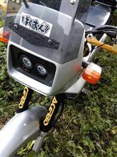 NX125メーカー・ブランド不明 LED プロジェクターヘッドライトの単体画像