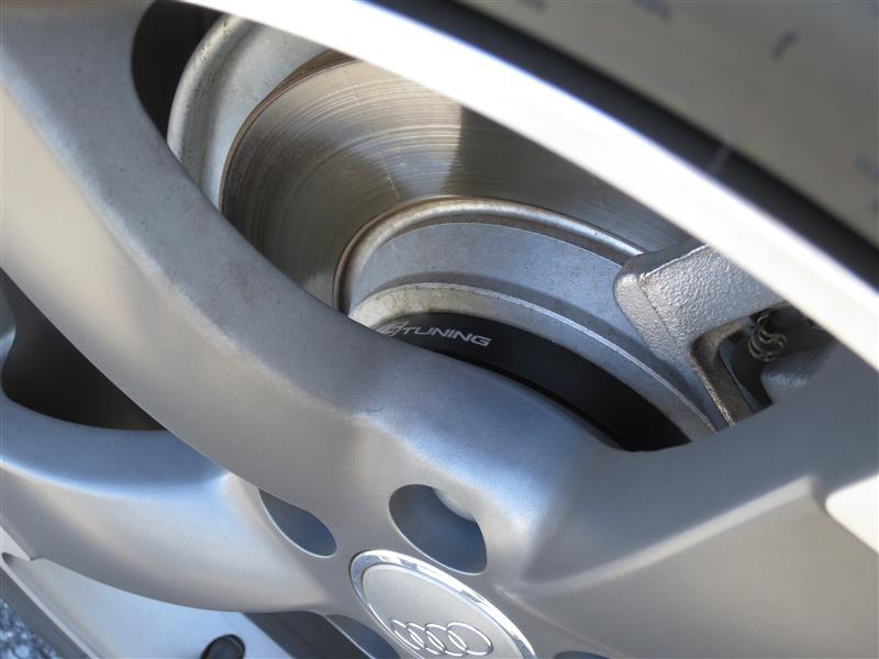 ECS Tuning ECS Wheel Spacer&Bolt kit for Audi 15.0mm