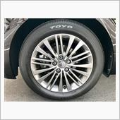 トヨタ純正オプション 17インチ純正アルミホイール+ 215/55R17 94V Sタイヤ