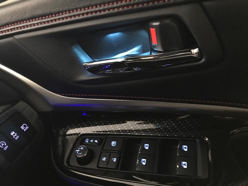 Grazio&Co. LEDインサイドドアハンドルアンビエント    ターコイズ