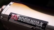 GSX1300R HAYABUSA (ハヤブサ)YOSHIMURA マフラー Tri-Oval サイクロンの単体画像