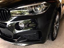 X6BMW(純正) M Performance カーボン・フロント・スポイラーの単体画像