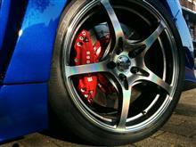 WRX STIRAYS VOLK RACING G50の単体画像