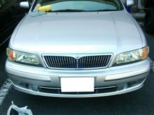 セフィーロ日産(純正) 特別仕様車専用グリルの単体画像